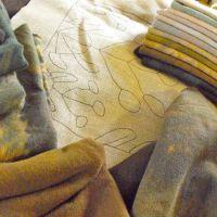 Free rug hooking pattern: Seaweed