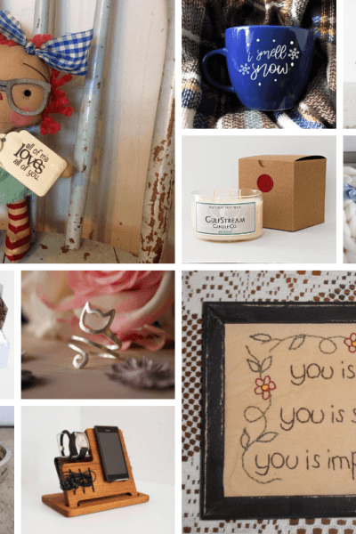 10 Must Have Handmade Gift Ideas