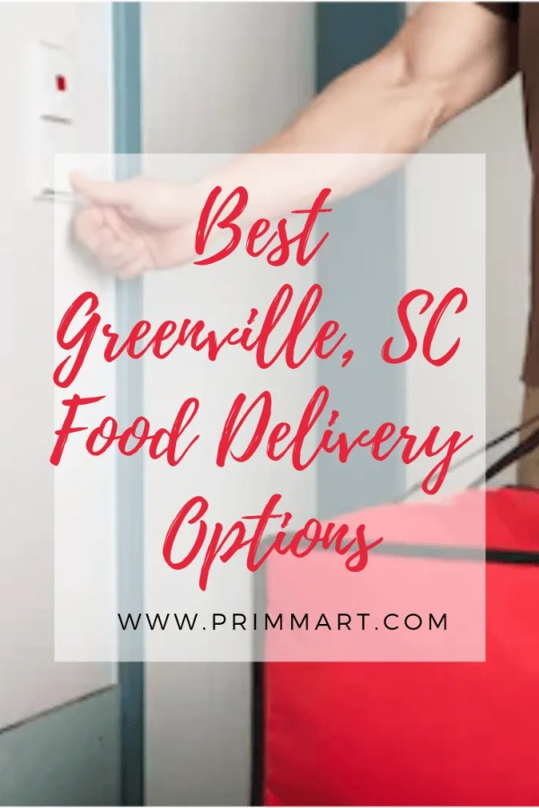 Greenville, South Carolina has 100's of resturants, but what about food delivery options? We've put together a list of some of the best.