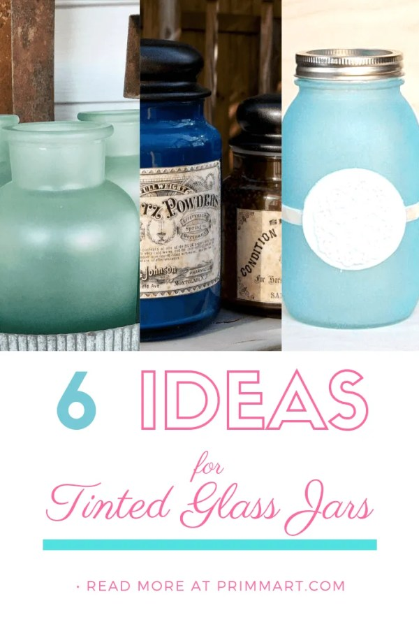 Did you know you can re-purpose empty glass jars. Learn how to tint glass jars permanently and create beautiful jars and vases.