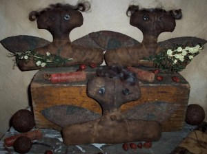 Extreme Primitive Angel Ornaments