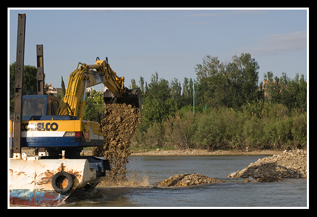 Dragado del Ebro 4 julio