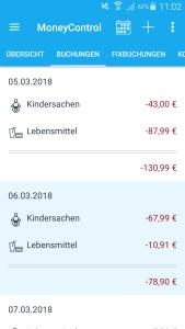 Eine Woche MoneyControl - Anna berichtet | Haushaltsbuch