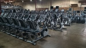 Used gym equipment South America