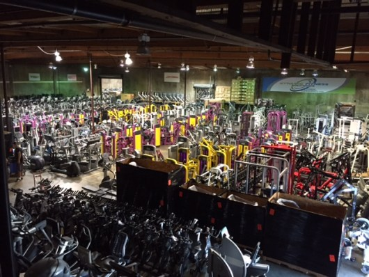 Used gym equipment Italy