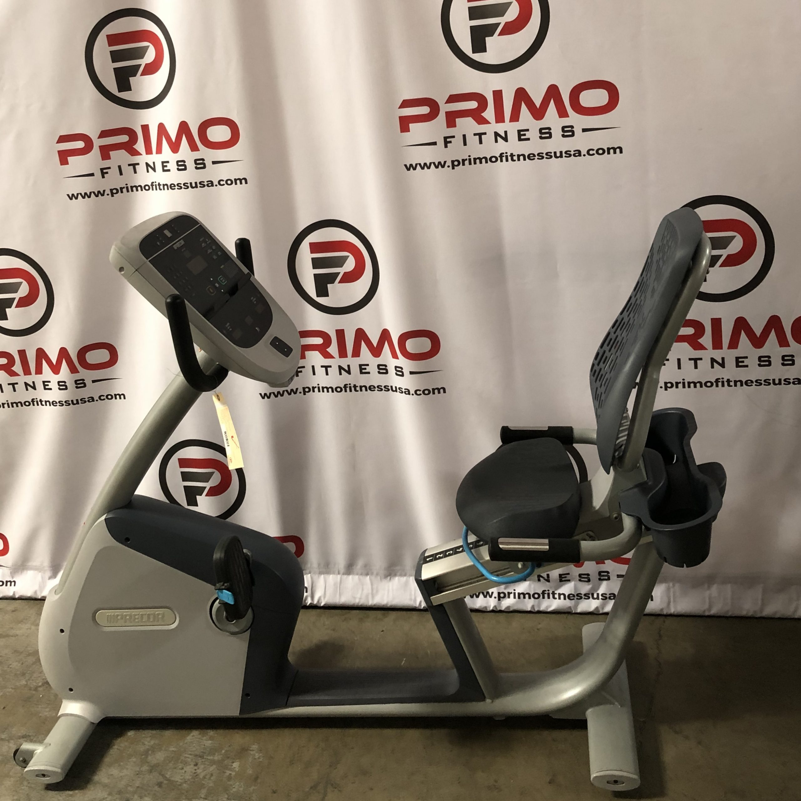 Precor RBK 815 Recumbent Bike P10 Console