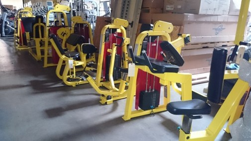 Precor Icarian Strength Line (Yellow)
