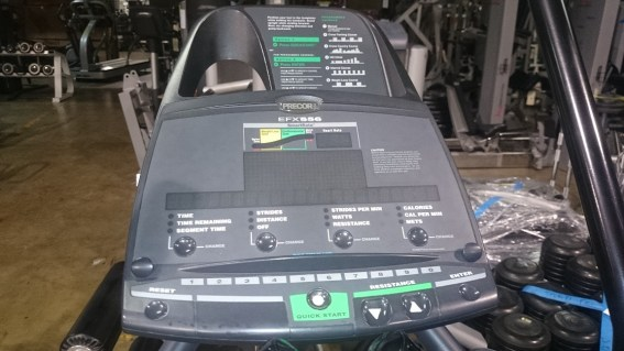 Precor 556 V3 Elliptical 4