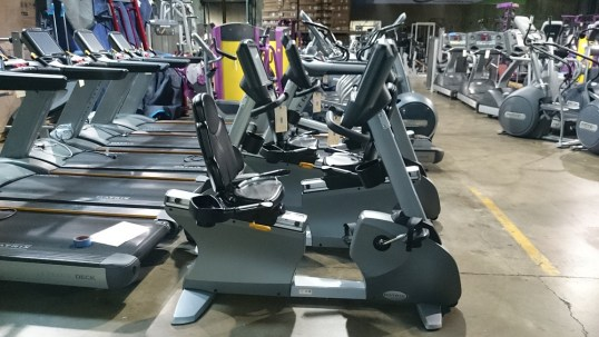 Matrix Touchscreen Recumbent Bike 3