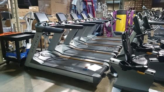 Matrix Touchscreen Treadmill 1