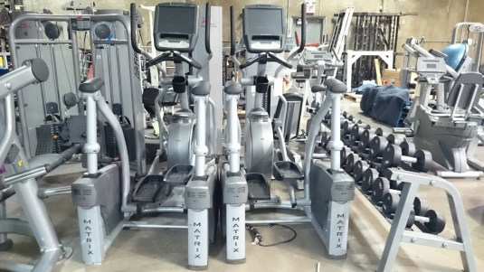 Matrix X7e (Ascent) Elliptical Crosstrainer (touchscreen) 2