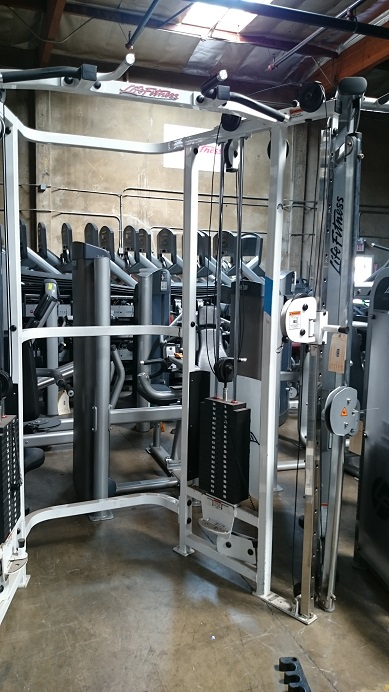 Life Fitness Dual Adjustable Pulley 3