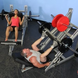 45 Degree Linear Leg Press