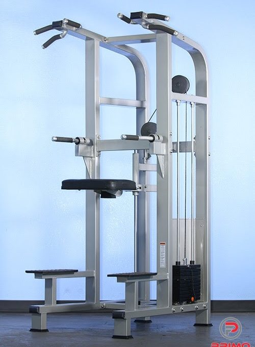 Muscle D Dual Function Weight Assisted Chin/Dip Combo MDD-1008