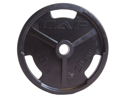 Black Iron Olympic Gripping Plates