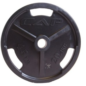 Black Iron Olympic Gripping Plates