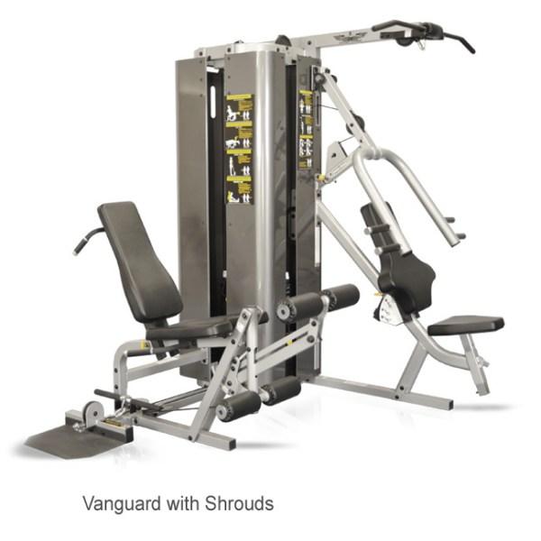 Vanguard 2-stack 3-station w/Full Shrounds