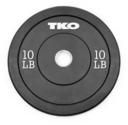 TKO Olympic Bumper Plates