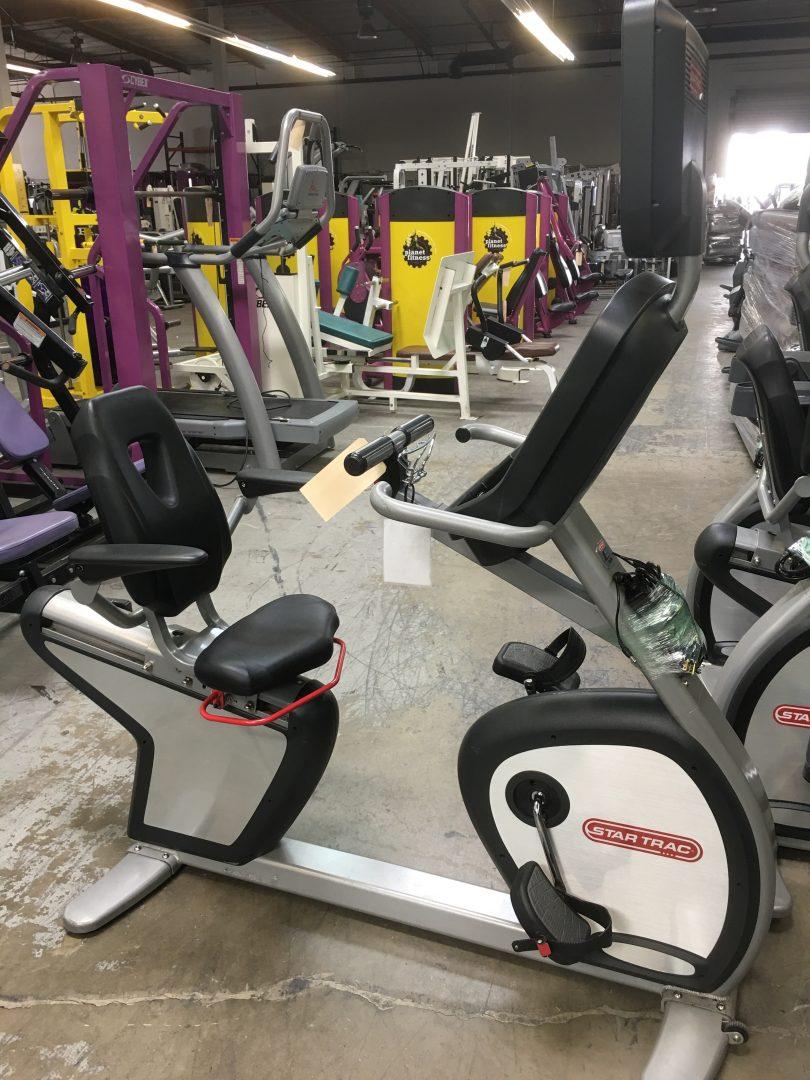 79310ba1db6 Star Trac E-RB Recumbent Bike with TV - Primo Fitness