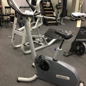Precor 842i Upright Bike