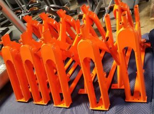Orange Custom Color Frames