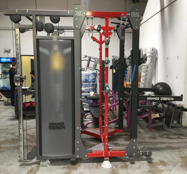 Hammer Strength Half Rack/Dual Adjustable Pulley Combo