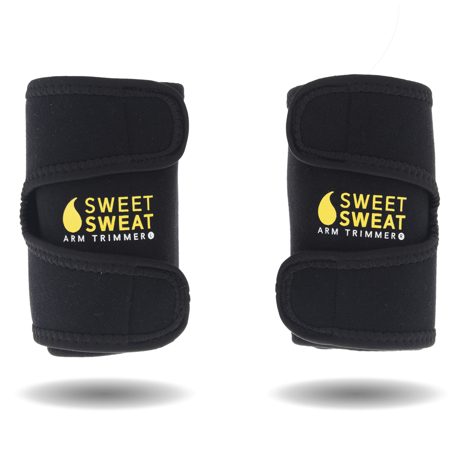 63e92b129e Sports Research Sweet Sweat Arm Trimmer M - Yellow - Primo Fitness