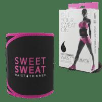 Sports Research Sweet Sweat Waist Trimmer - Pink