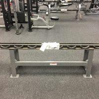Hammer Strength Single Tier Dumbbell Rack