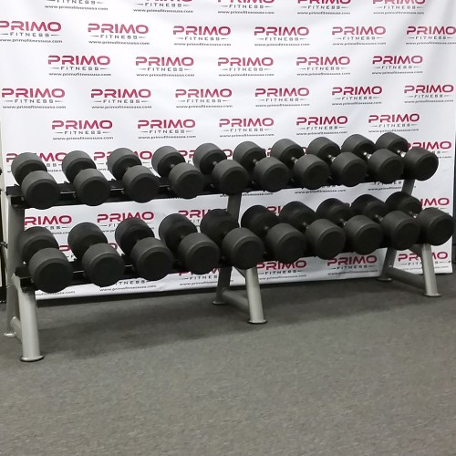 Hampton Dura Pro Round Dumbbells 55 lbs. to 100 lbs.