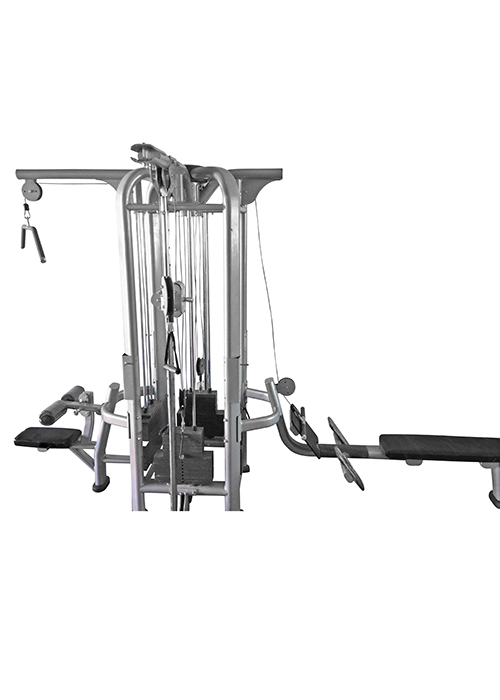 Muscle D Multi Station Deluxe 4 Stack Jungle/Multi Gym