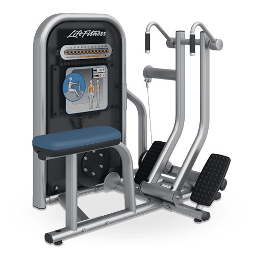 Life Fitness Circuit Series Seated Row machine