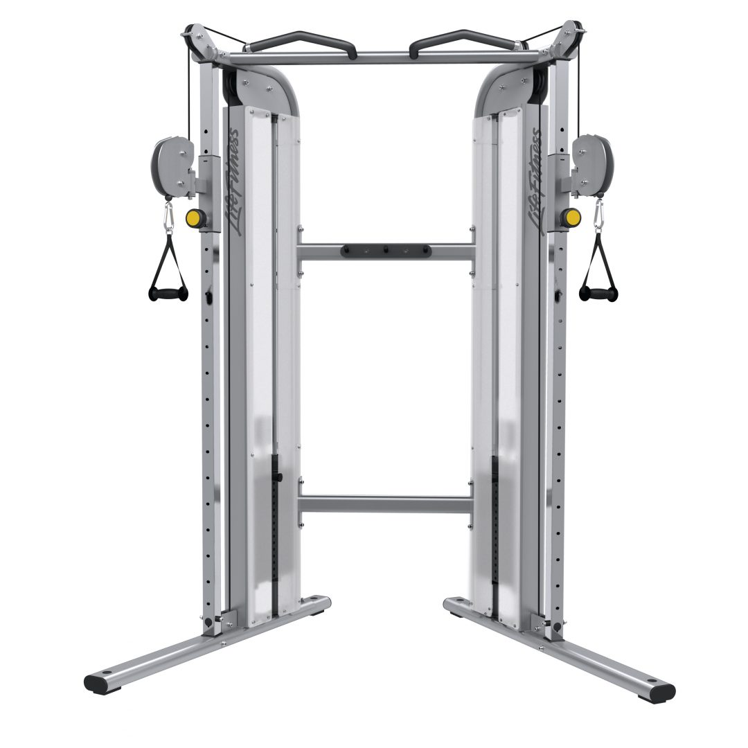Life Fitness Optima Dual Adjustable Pulley Machine
