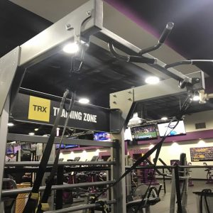 Gym Rax for TRX Training Zone