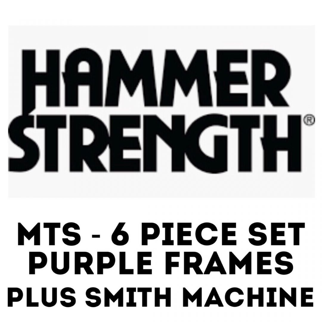 Hammer Strength MTS + Smith Machine Package - $9,800 USD