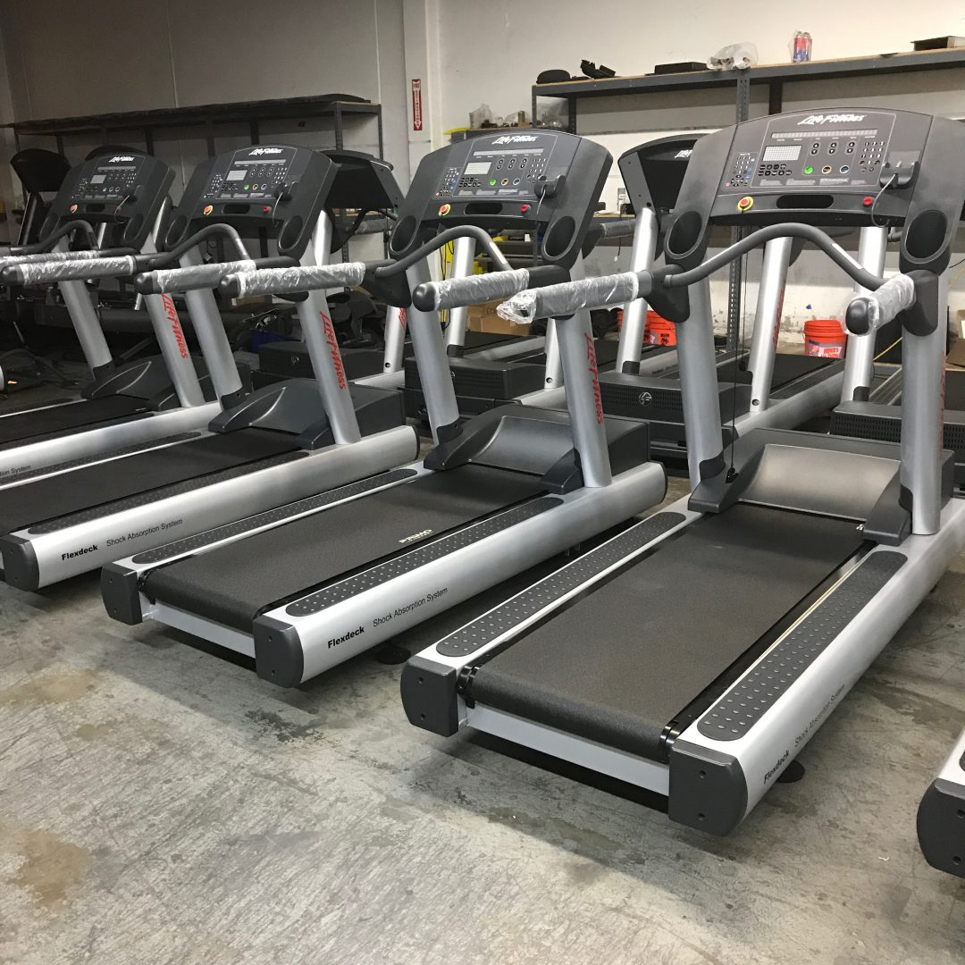 Refurbished Life Fitness Integrity Treadmills