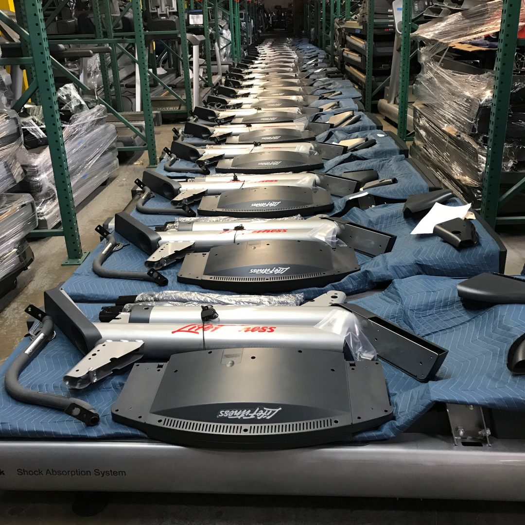 Life Fitness Integrity Treadmills to Assemble