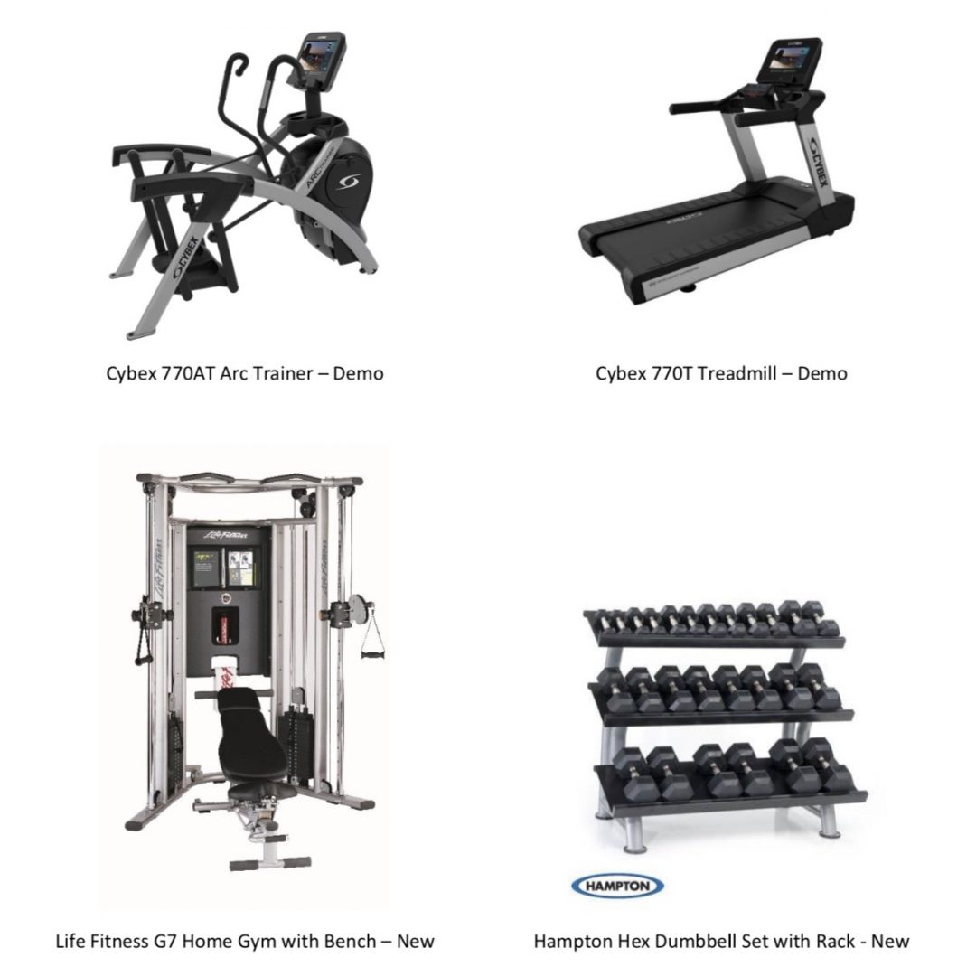 Package Of Home Exercise Equipment