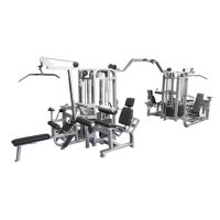 Muscle D The Compact 8 Stack Multi Gym