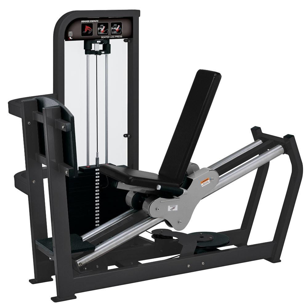 Hammer Strength Selectorized Seated Leg Press