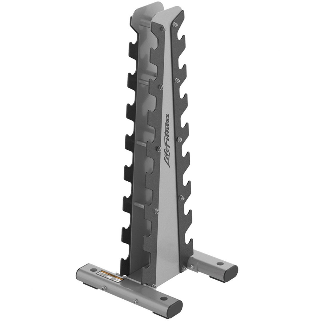Life Fitness Optima Series Vertical Dumbbell Rack