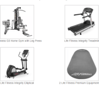 Life Fitness Home Package