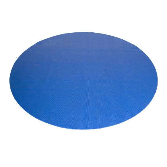 CAP Antimicrobial Multi-Use Round Mat, Blue, 5 Feet