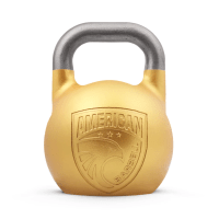 48KG Steel Competition Kettle Bell (Gold)