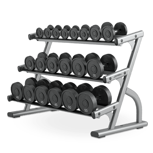 LIfe Fitness 3 -Tier Dumbbell Rack (OSDB3)