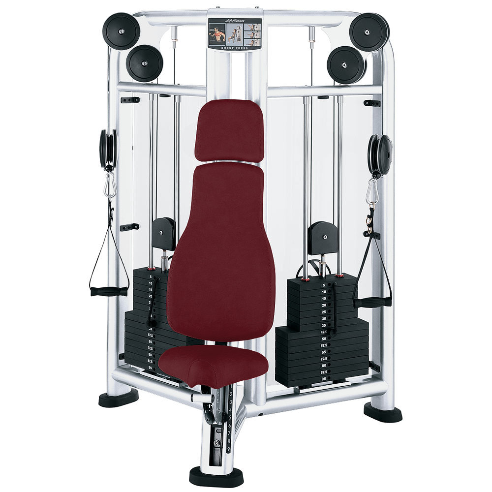 Life Fitness Series Chest Press Dual Stack