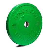 American Barbell Shield Bumper Plate Green