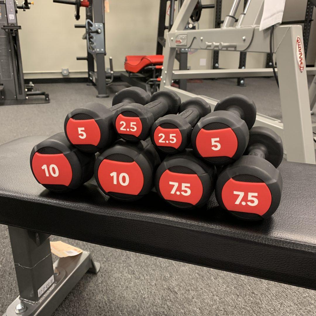 Life Fitness Studio Dumbbells Set