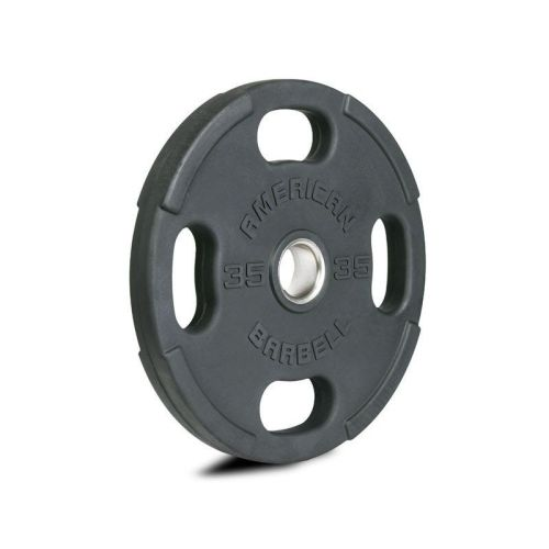 American Barbell Rubber Olympic Grip Plates