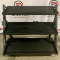 AB 3 Tier Hex Dumbbell Rack